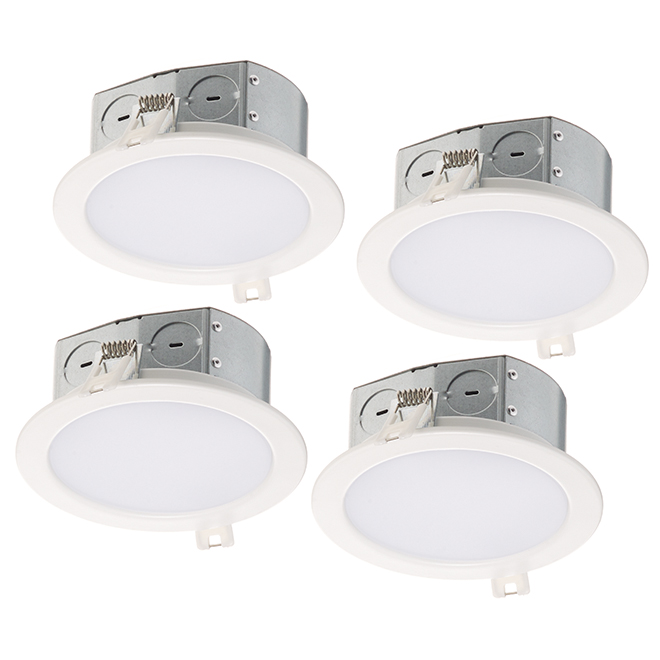 the best attitude ef2a5 c2dcd BAZZ Recessed Lights - Slim - 11W LED - Matte White - 4/Pk ...