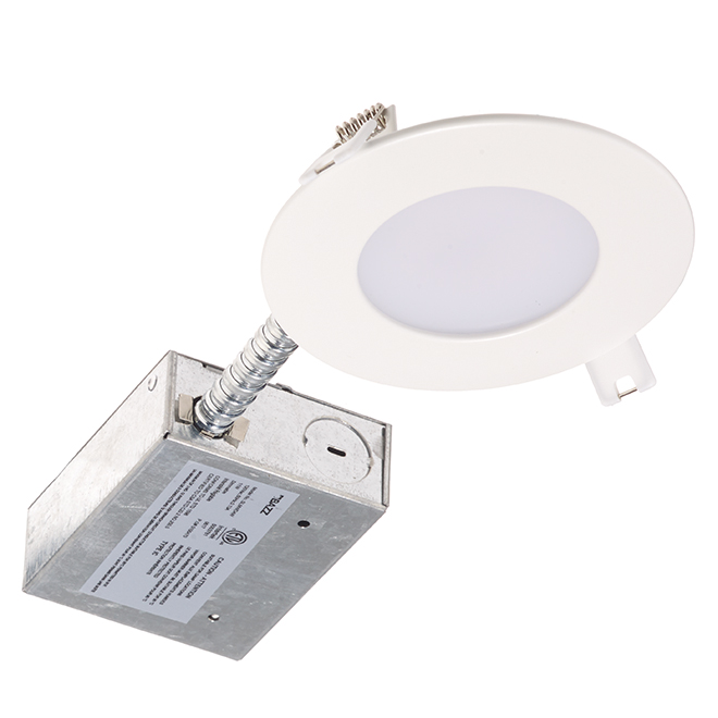 Dimmable Recessed Light - Slim - 11 W LED - Matte White