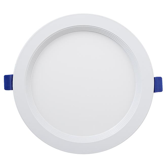 Luminaire encastré, Slim, DEL 15 W, blanc mat