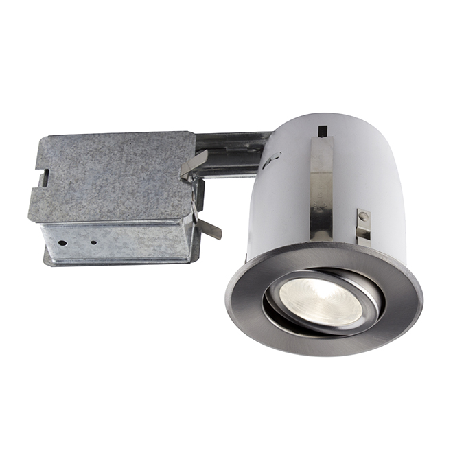 Bazz 510 Series Recessed Light - 50 Watts - Dimmable - 1-Pack - Brushed Chrome