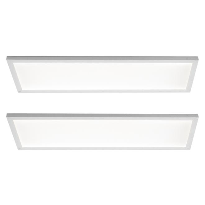 "Under Cabinet Surface-Mount LED Panels 11.8"" x 4"""