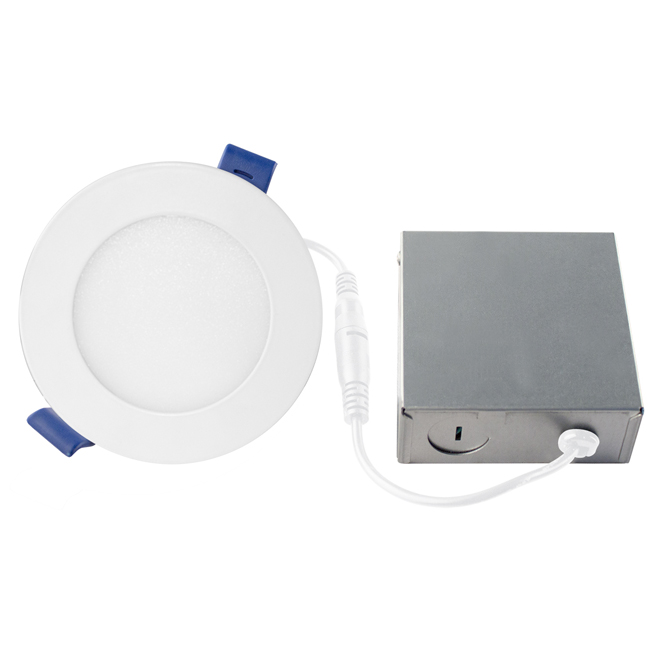 Dimmable Recessed Light - 11 W LED - Matte White