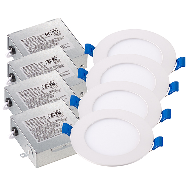 Dimmable Recessed Lights - 11W LED - 4/Pk