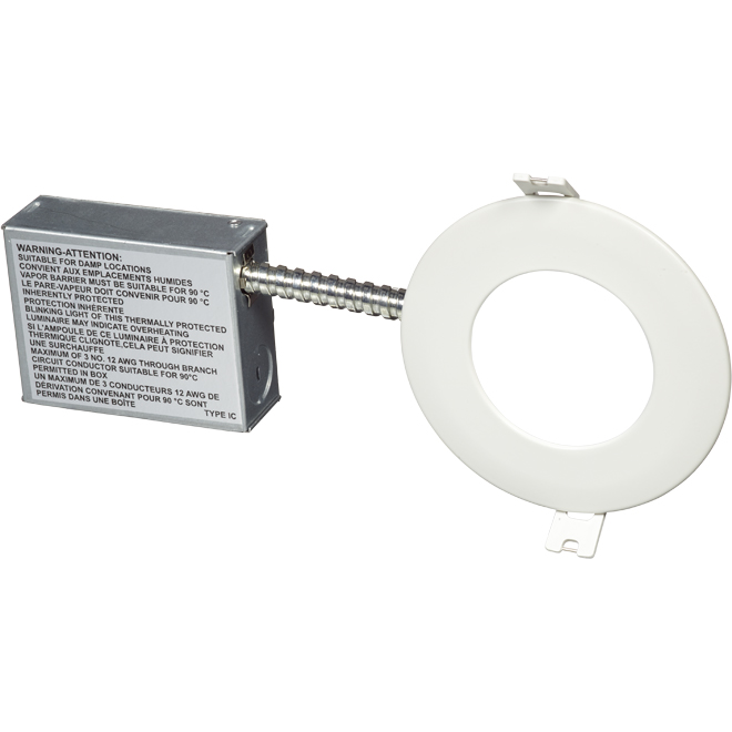"""Recessed LED Light - Wi-Fi Color - 4"""" - 11 W - White"""