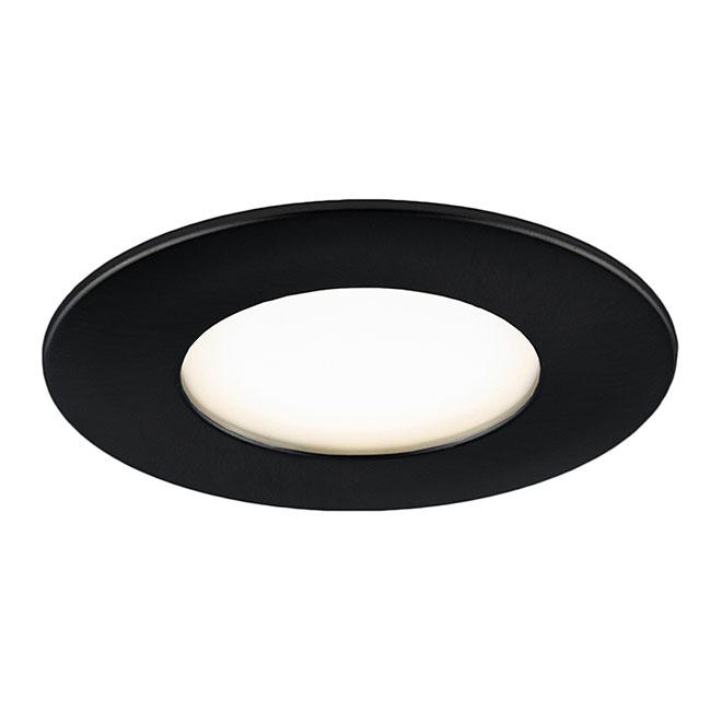 "Recessed LED Light - Wi-Fi Mood - 4"" - 11 W - Black"