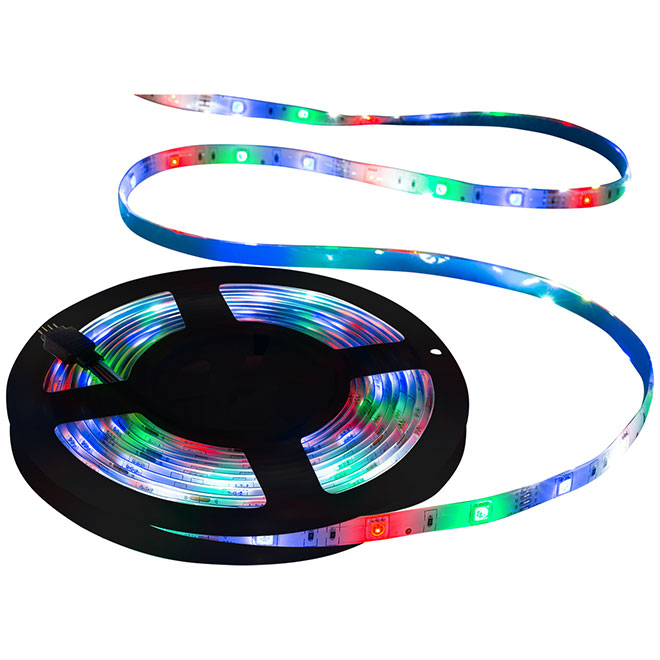 Self-Adhesive LED Strip Light - Wi-Fi - 10' - Multicolour