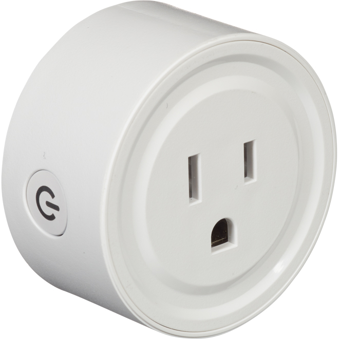 Bazz Smart Home - Single Wall Outlet - WiFi - 120 V - White