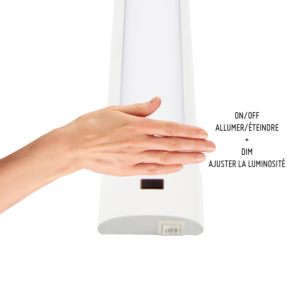Undercabinet Light with Motion Detector - LED 6 W - 12''