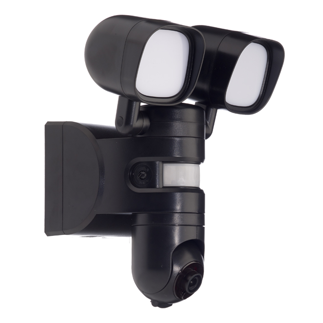 Exterior Security LED Light with HD Camera - 180° - 2 Heads