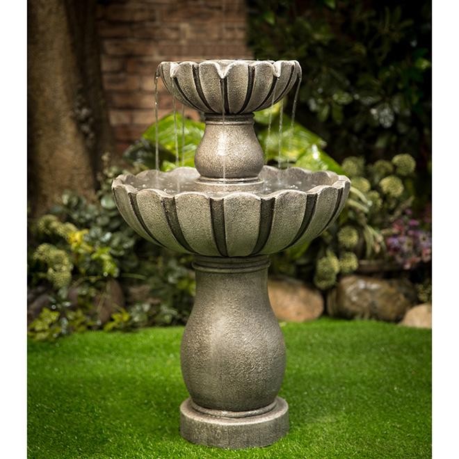 Two-Level Fountain - 18.11'' x 29.13'' - GRC