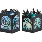 Decorative Lanterns with LED Lights - 4/Pack