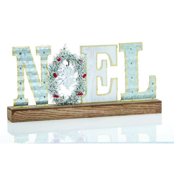 Holiday Living Table Decoration - Noel Letters - MDF