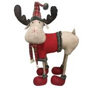Holiday Living Standing Moose Plush - Polyester