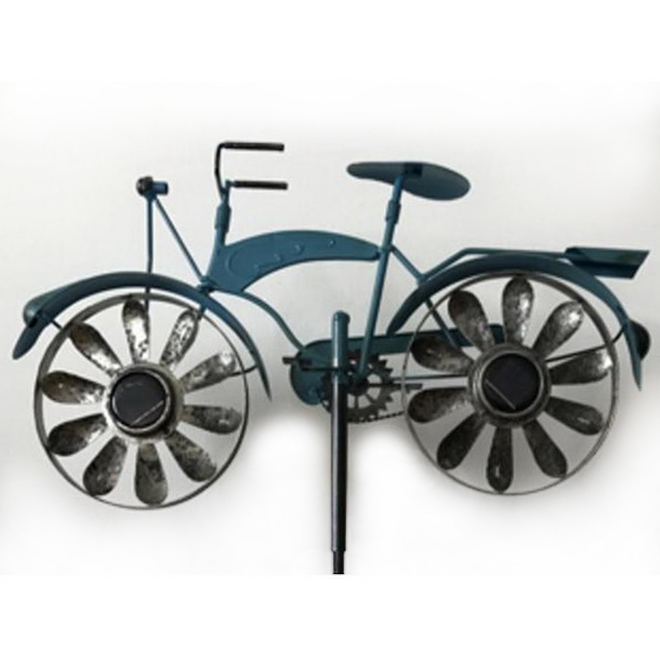 Infinity - Solar Spinner Bike - Blue