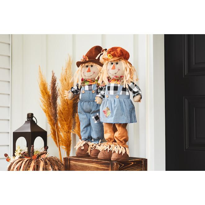 Infinity 24-in Scarecrow Figurine