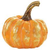 Infinity 6.3-in Decorative Pumpkin