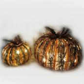 Infinity 10.63-in Battery-Operated LED Lighted Pumpkins