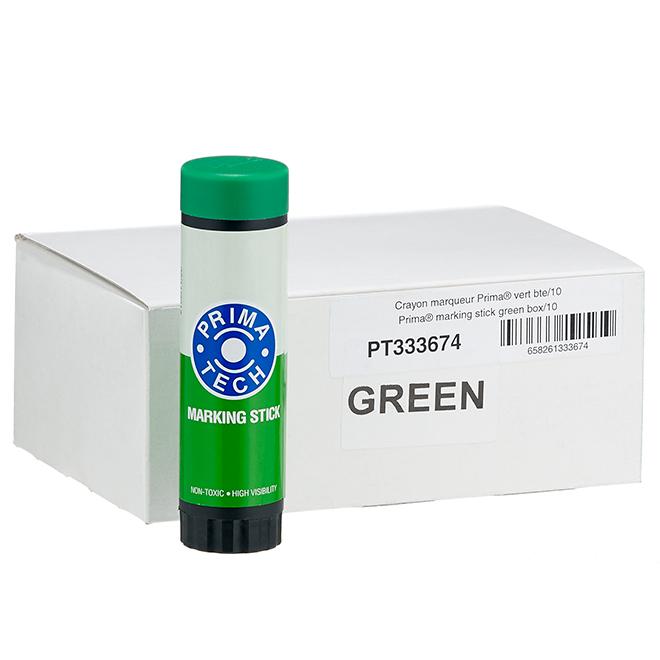 Animal Marking Stick - Green - Box of 10