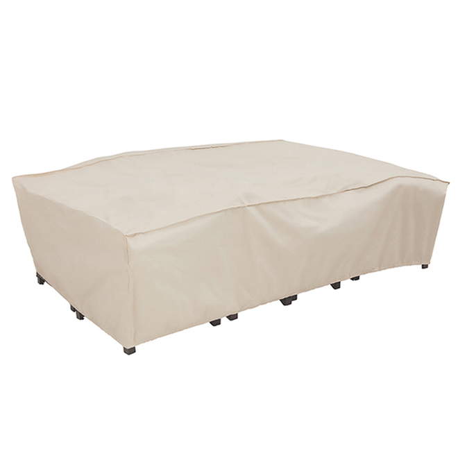 Elemental Premium Chat Set Cover - 120-in x 70-in x 30-in - Taupe