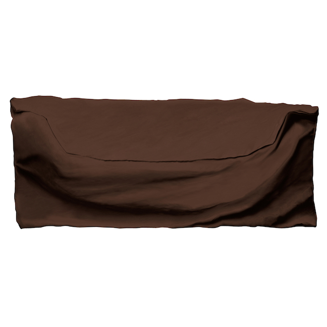 Armor All Outdoor Loveseat Cover - 60-in x 35-in x 32-in - Dark Brown