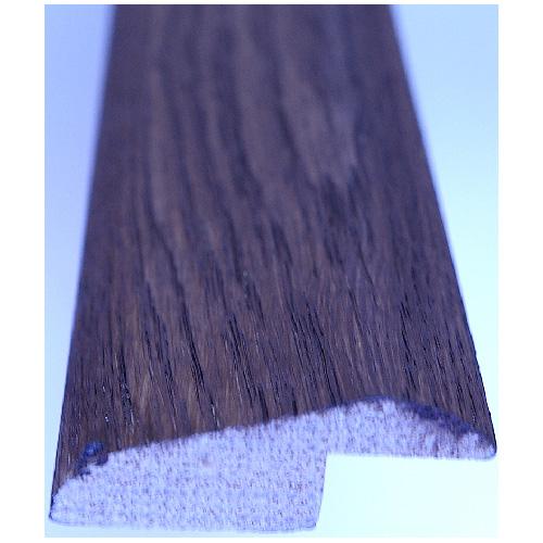 """Reduction Moulding - Oak - 72"""" x 8 mm - Dark Walnut"""