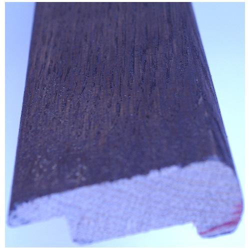 "Stair Nosing - Oak - 72"" x 8 mm - Dark Walnut"
