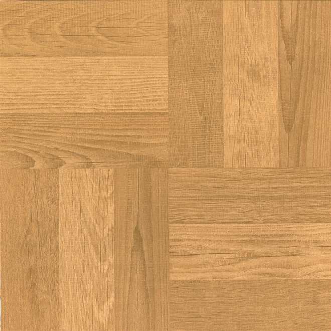 "Self-Adhesive Vinyl Tiles - 12"" x 12"" - 45/Box - Oak"