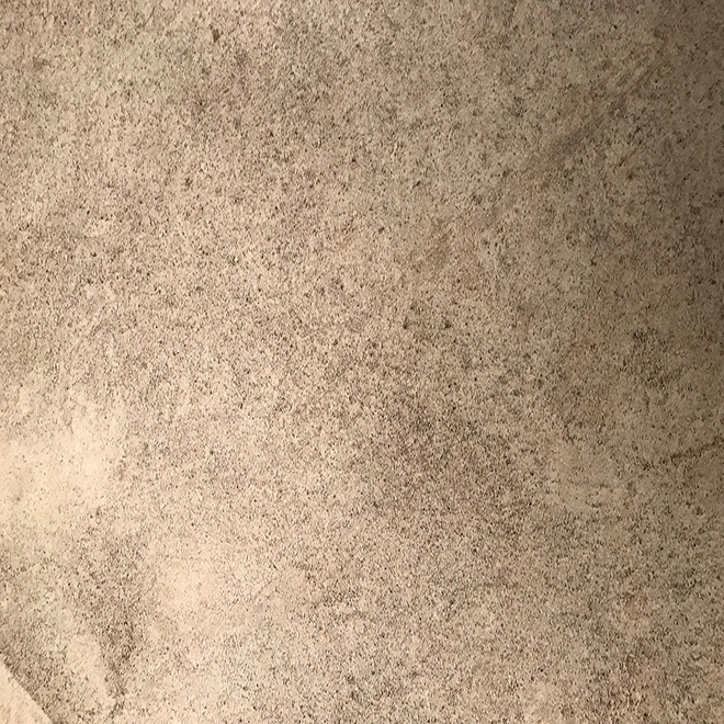 QUICKSTYLE Indoor Vinyl Flooring Tiles for Kitchens with Stone Look - Covers 45-sq. ft.
