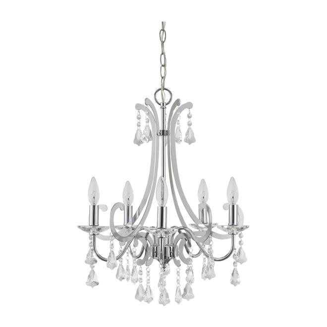Dixie 5 light chandelier rona dixie 5 light chandelier mozeypictures Choice Image
