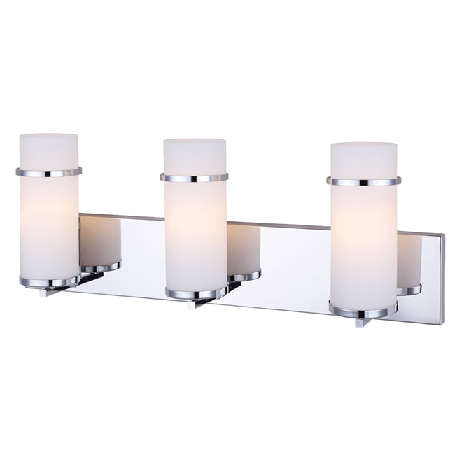 3 light wall mounted vanity light 24 chrome