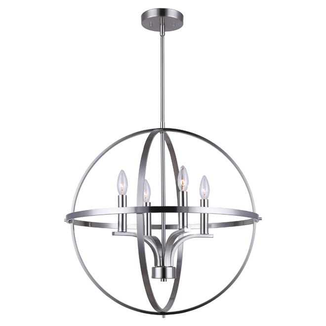 Arizona 4 light chandelier