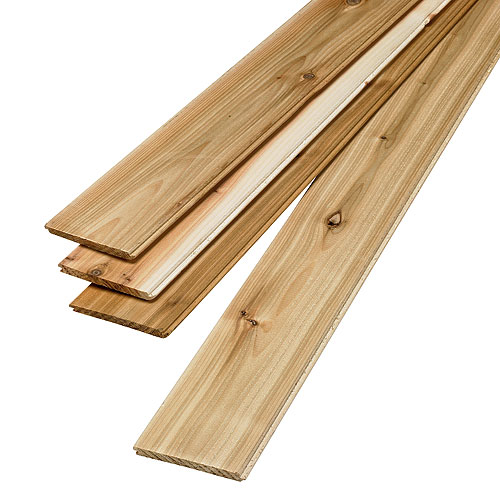 Panelling - Knotty Cedar Panelling