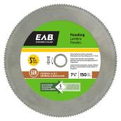 Paneling Circular Saw Steel Blade - 7 1/4
