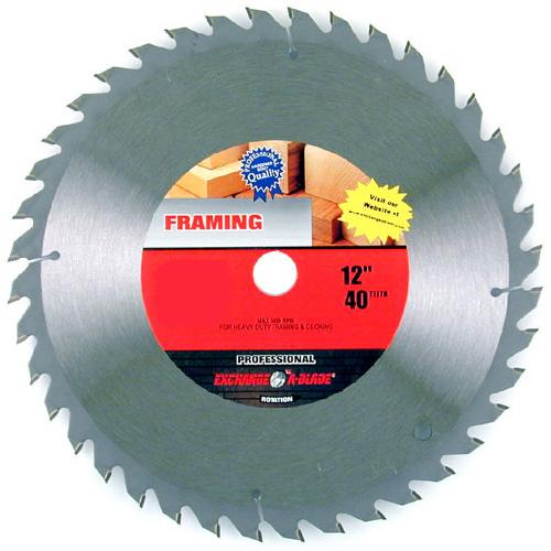 Framing Circular Saw Carbide Blade 12 40th Rona