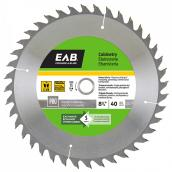 """""""Cabinetry"""" Saw Carbide Blade - 8 1/4"""" - 40TH"""