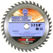 Circular Saw Blade - 40-tooth - 7 1/4