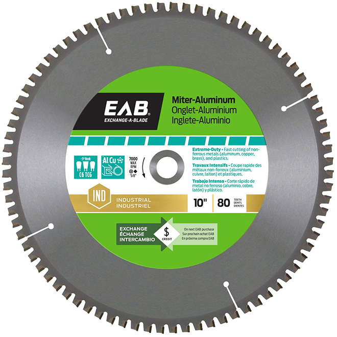 Miter saw blade 80 tooth 10 steelcarbide rona miter saw blade 80 tooth 10 steelcarbide greentooth Image collections
