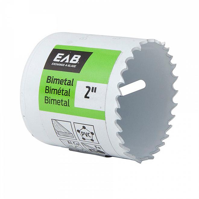 EAB Premium M3 Industrial Grade Hole Saw - 2-in Dia - 1 5/8-in Cutting Depth - Bi-metal
