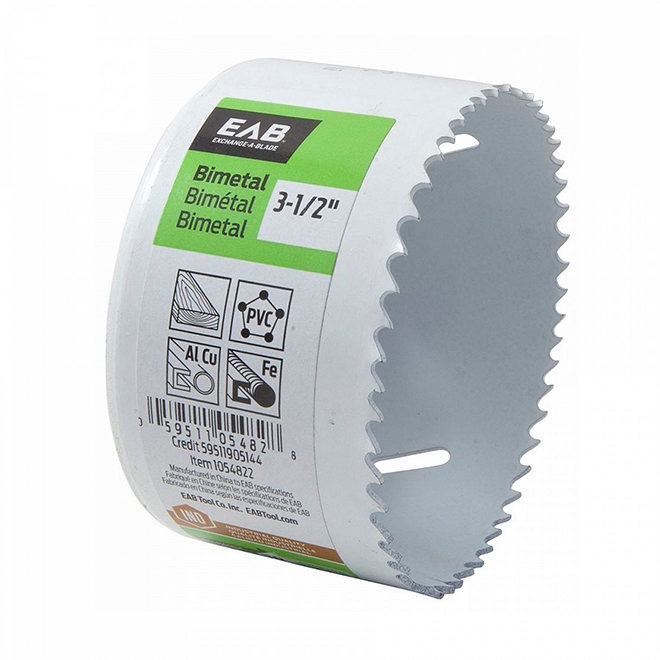 EXCHANGE-A-BLADE 3 1/2-IN HOLE SAW 1054822 | RONA
