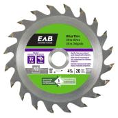 Circular Saw Blade- 20-tooth - 4 3/8