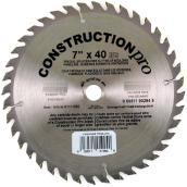 Finishing Circular Saw Blade - 40-tooth - 10