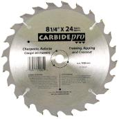 Circular Saw Blade - 24-tooth - 8 1/4