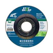 Masonry Depressed-Centre Grinding Wheel - 4 1/2