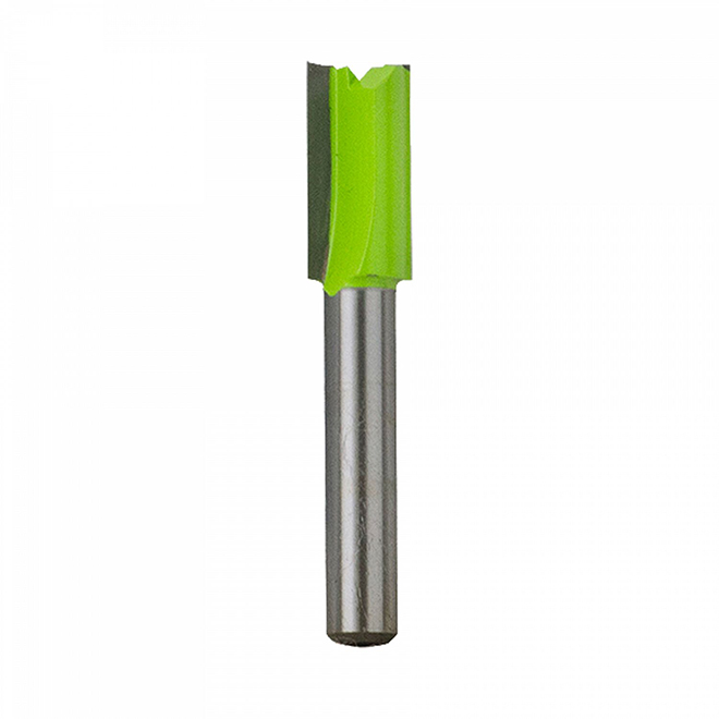 """EAB Tool 3/8"""" x 1/4"""" Shank Straight Professional Router Bit - Exchangeable"""