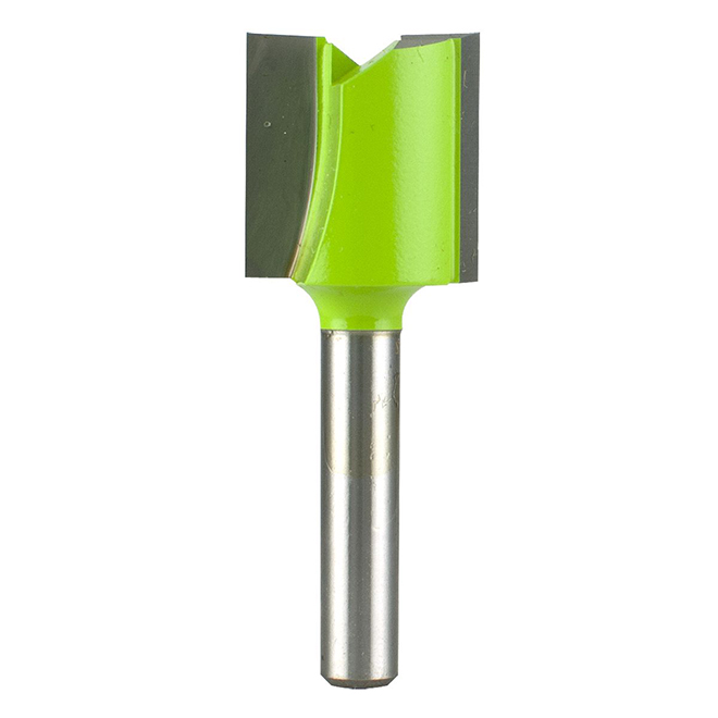 "EAB Tool 3/4"" x 1/4"" Shank Straight Professional Router Bit - Exchangeable"