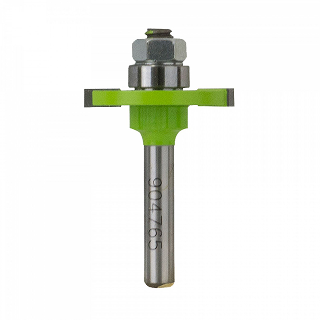 """EAB Tool Slot Cutter Professional Router Bit - 5/32"""" x 1/4"""" Shank - Exchangeable"""