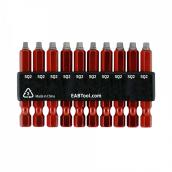 SQUARE SCREWDRIVER BIT SET