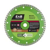Lame en diamant turbo Exchange-A-Blade, Série verte, 7""