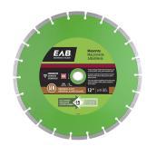EAB Segmented Rim Diamond Blade - Concrete - Green Series - 12-in dia - Recyclable Exchangeable