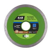 """Green Series"" Continuous Diamond Blade - 3 3/8"""